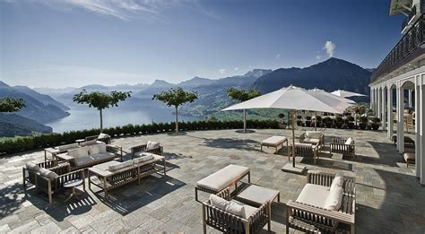 Mediterranean House Plans With Pool 5 star hotel in the swiss alps overlooking lake lucerne