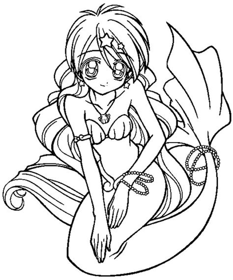 nice stunning coloring pages online cute anime coloring document beautiful anime mermaid coloring pages coloring