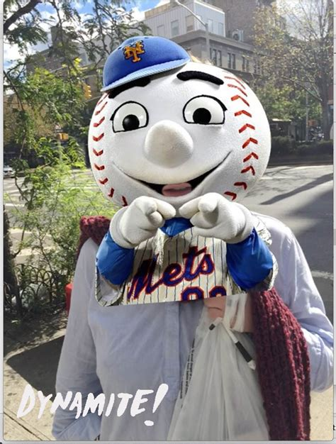 Fan Records Mr Met Is Number 1 In Social Reports Dynamite Labs