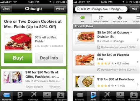groupon mobile app sky is the limit as mobile kicks in for travel brands tnooz