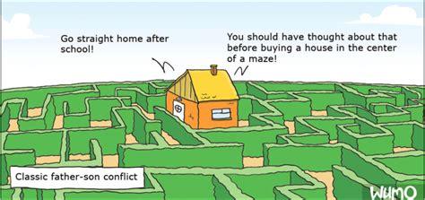 a house in a maze wumo