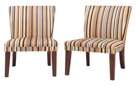 Striped Dining Room Chairs Striped Upholstered Dining Chairs Lorenzo Upholstered Striped Dining Chair Pair By Lpd