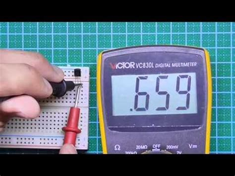 test bjt transistor with multimeter how to test transistors with any multimeter doovi