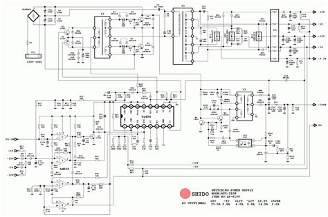 atx 450w smps circuit diagram two dead atx smps s tl494 and fsp3528 based badcaps forums