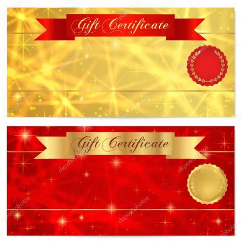 Gift Cards Coupons - coupon flyer template