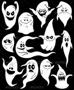 ghost faces for halloween ghosts cartoon halloween and photos