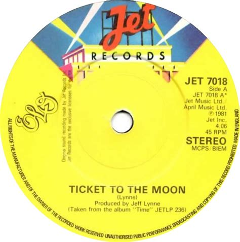 electric light orchestra ticket to the moon 45cat elo ticket to the moon here is the jet