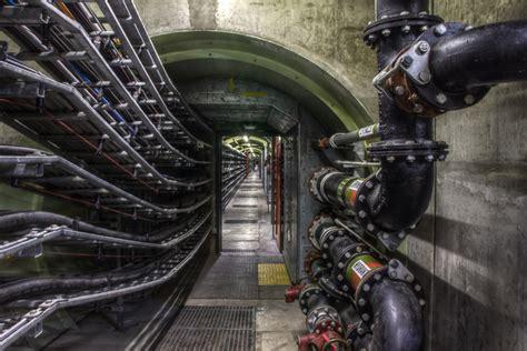 Thames Barrier Tunnel | thames barrier underground tunnel
