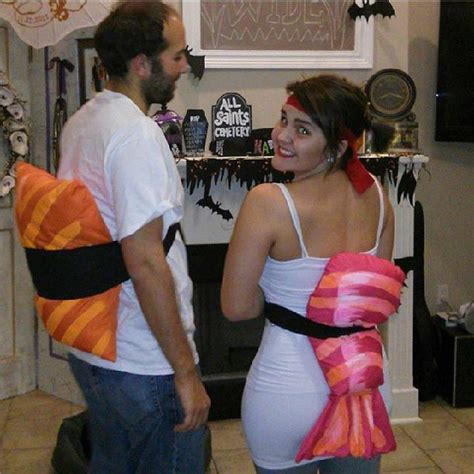 homemade sushi costumes cheap couple costumes