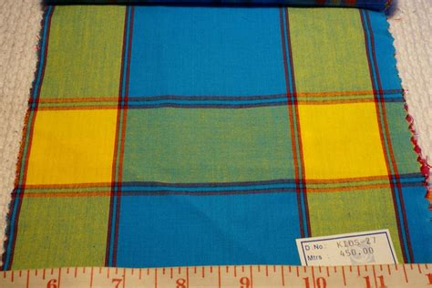 Madras Patchwork Fabric - madras plaid indian madras plaid fabric patchwork
