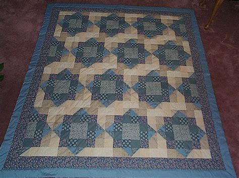 Nine Patch Quilt Pattern Variations by F Kostoff Quilts