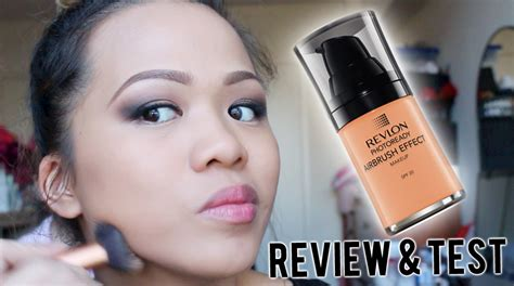 Revlon Hd Foundation revlon photoready airbrush effect foundation review test