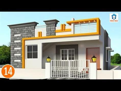 front elevation design for bhavana s 40 x 50 sw corner duplex house in bangalore front independent house front elevations single floor house