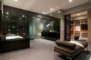 Home Interior Design Bathroom California Modern Luxury Residence Nightingale Drive