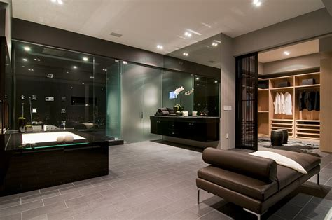 Modern Luxury Interiors by California Modern Luxury Residence Nightingale Drive