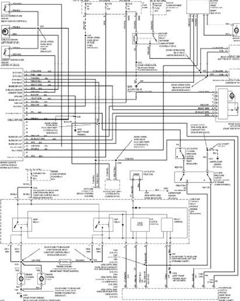 1997 ford wiring diagram 1997 ford taurus wiring diagrams wiring diagram service