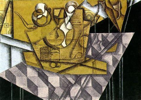 Synthetischer Kubismus Picasso by Juan Gris Pintor Cubista Taringa