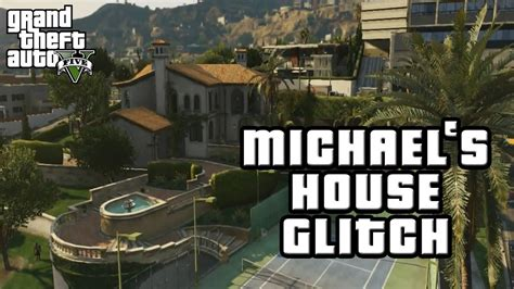 gta 5 houses gta v online garage glitch and inside michaels house glitch tutorial version 1 27 youtube