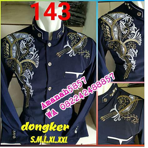 Barang Oke Jasko Putih Bordir Baju Koko Pria Kemeja Koko amanah5857 barang untuk dijual di carousell