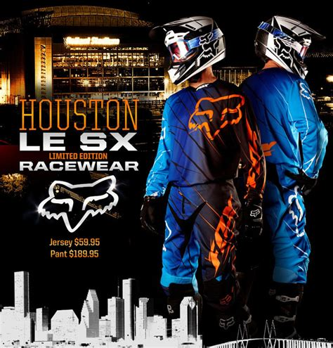 motocross gear houston fox releases 360 future houston limited edition gear
