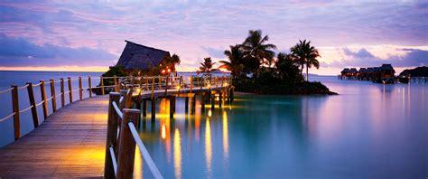 fiji accommodation bungalow water fiji resorts fiji overwater bungalow likuliku lagoon