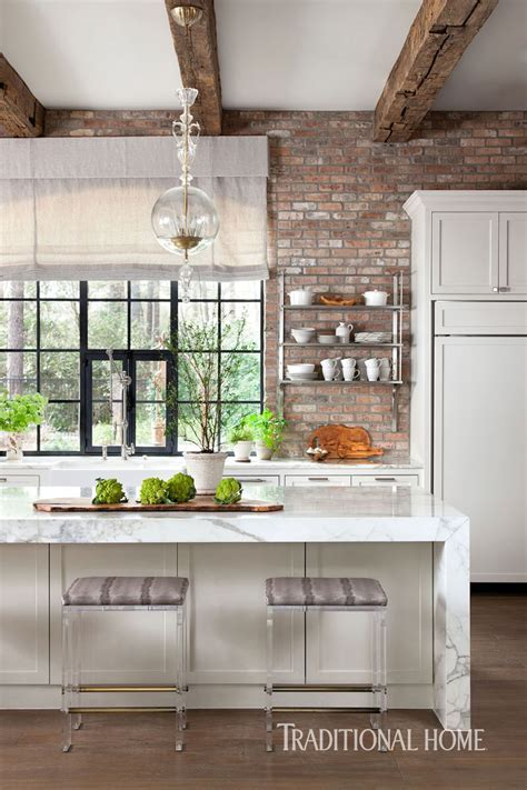 Texas Kitchen with Rustic Glamour   Traditional Home