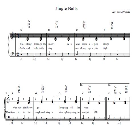 tutorial piano jingle bells jingle bells