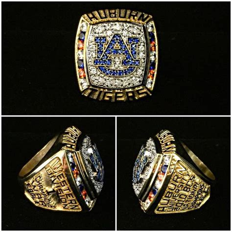 auburn tigers chionship ring from dunham jewelry