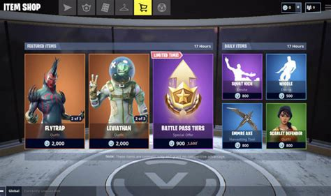 fortnite item shop today fortnite item shop update how to get leviathan and