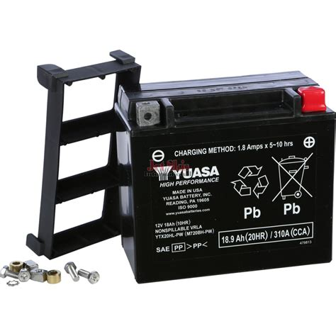 yamaha jet boat battery yuasa battery ytx20hl pw for kawaski jet skis polaris