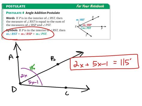 Geometry Worksheet 1 2 Congruence And Segment Addition by Angle Addition Worksheet Casademateo