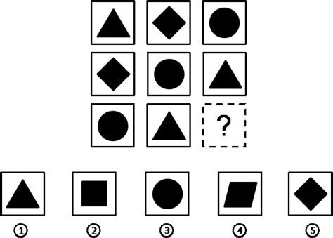 mensa pattern questions intelligence tests for kids sample test questions