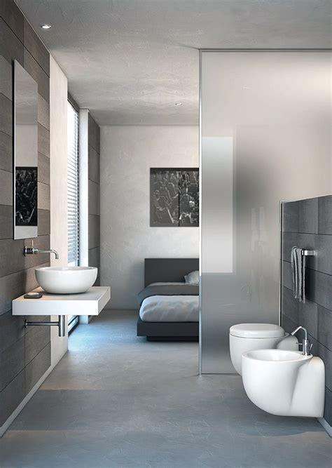 bedroom and bathroom in one room comment organiser ma salle de bains et ma chambre deux en un