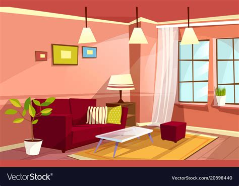 home interior vector 2018 living room apartment interior royalty free vector