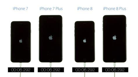 boot speed test iphone 8 vs iphone 8 plus vs iphone 7 vs iphone 7 plus