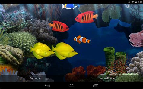 live wallpaper for pc aquarium best fish live wallpapers android live wallpaper