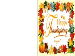 printable fall leaves happy thanksgiving cards