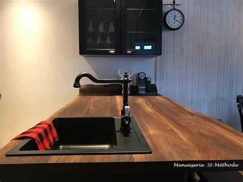 Comptoir De Cuisine En Bois by Menuiserie St M 233 Thode