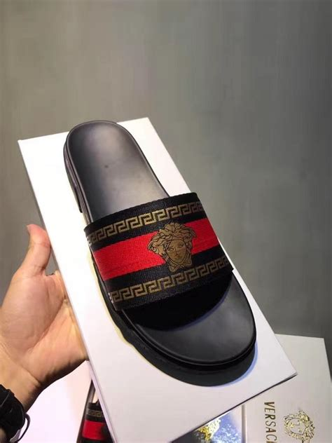 versace slippers versace slippers for 490864 41 10 wholesale replica