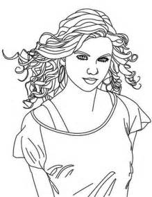 taylor swift coloring pages to print coloring home