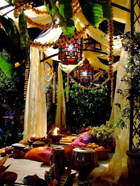 bohemian backyard summer getaway ideas outdoortheme