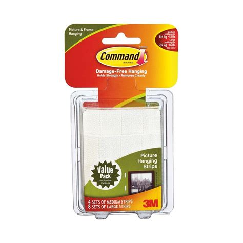 3m command adhesive picture hanging strips the container command medium and large picture hanging adhesive strips