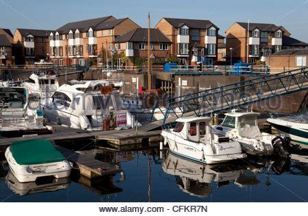 boat mooring cardiff boats moored near waterside houses and homes with cardiff