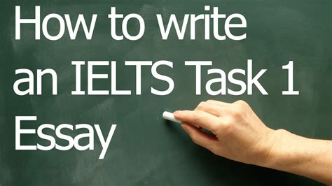 How To Write An Essay For Ielts by How To Write An Ielts Task 1 Line Graph Essay