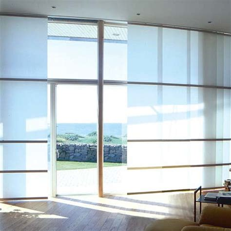 Sliding Panel Window Treatment Sheerweave Sliding Panels Contemporary Vertical Blinds