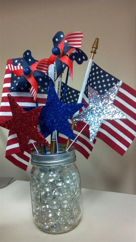 4th of july table 4th of july centerpiece 4th of july pinterest