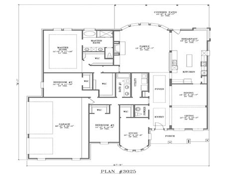Best One Story House Plans | best one story house plans one story house plans house