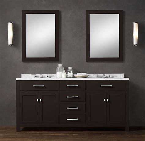 hutton double vanity sink double restoration hardware