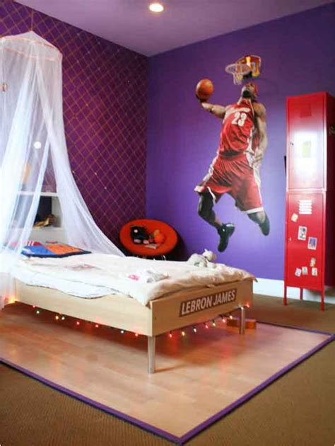 boys sports theme bedrooms room design ideas