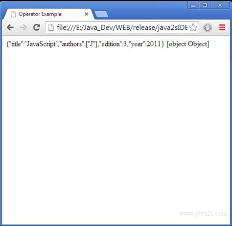tutorial javascript json use json parse to create json object from string in